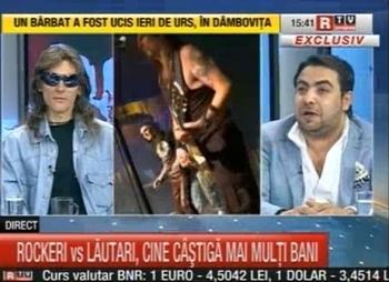Dan Bursuc prezinta aplicatia DiBi Radio la Romania TV