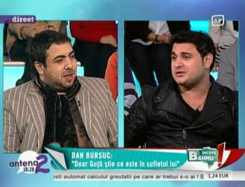 Dan Bursuc si Copilul de Aur invitati la emisiunea lui Bahmu de pe Antena 2