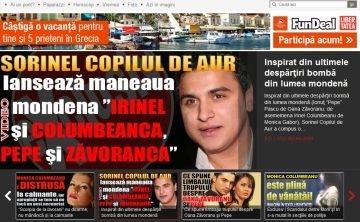 Asculta AICI maneaua mondena Irinel si Columbeanca, Pepe si Zavoranca