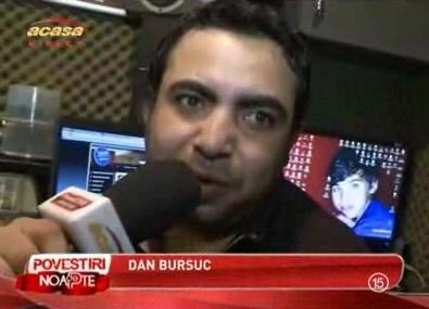 Afla cum face Dan Bursuc piesele...