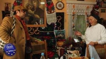 Dan Bursuc in vizita la mama KristiYanei